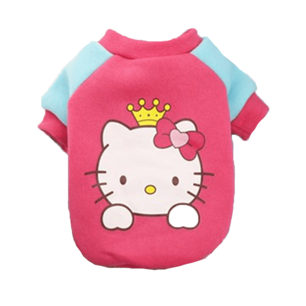 Elastyczna bluza dla psa Hello Kitty