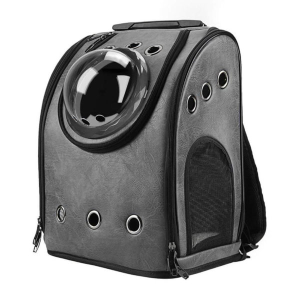 Plecak transporter dla małych zwierząt czarny