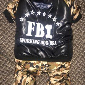 Ocieplany kombinezon moro FBI photo review