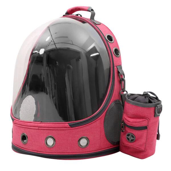 Różowy Plecak Astronauta ARMSTRONG Przodem