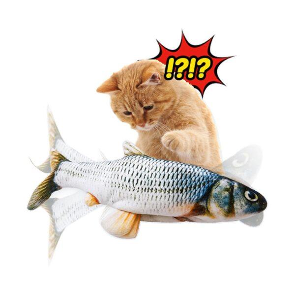Dalikot Dancing Fish Realistyczna Interaktywna Zabawka dla Kota