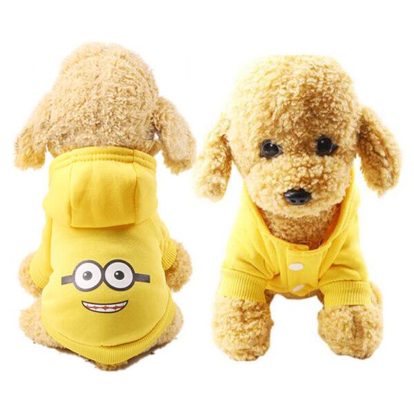 Kreskówkowa-bluza-dla-psa-MINION-miniatura