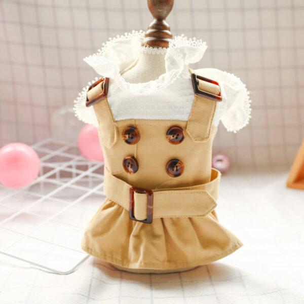 Sukienka dla psa EMMA na stojaku