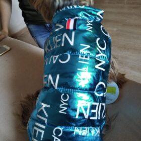 Dwustronna kurtka dla psa CALVIN photo review