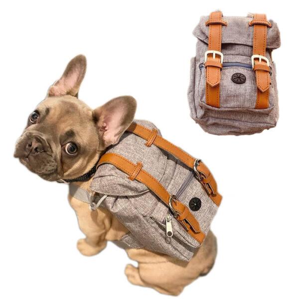 Szelki dla psa z plecakiem franco Miniaturka