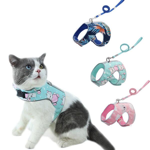 Bezuciskowe szelki dla kota Katsi miniaturka