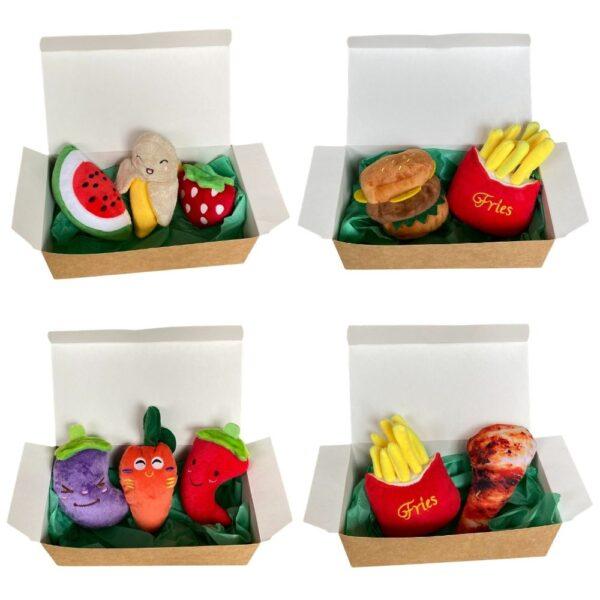 Zestaw pluszowych zabawek Petinio BOX miniatura