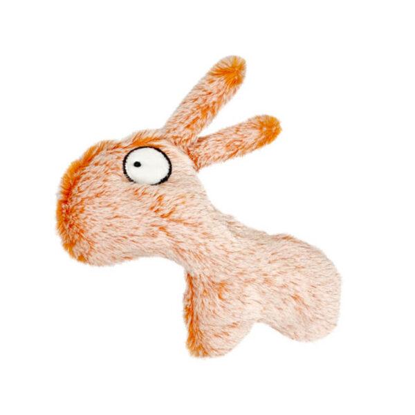 petinio zoo pluszowa zabawka dla kota z dzwoneczkiem i kocimiętką osiołek Fabian