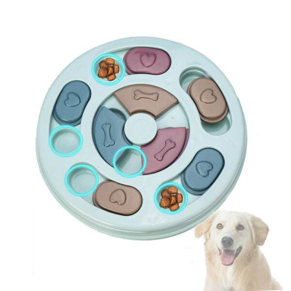zabawka edukacyjna dla psa miska łamigłówka miniatura