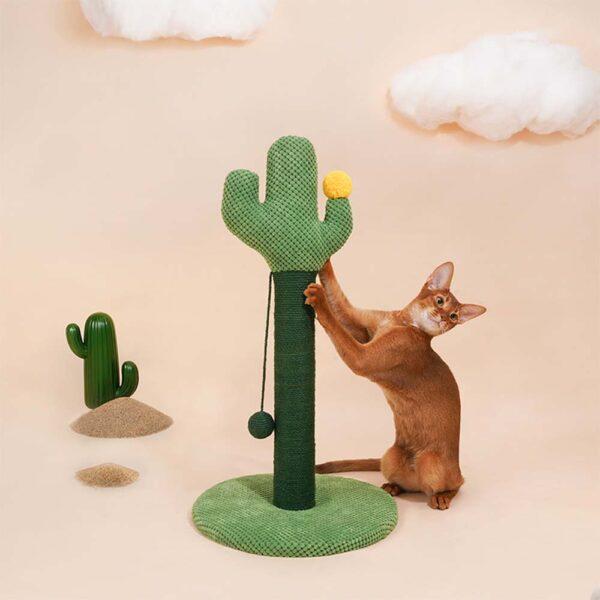 Drapak dla kota kaktus z piłką alvaro miniaturka